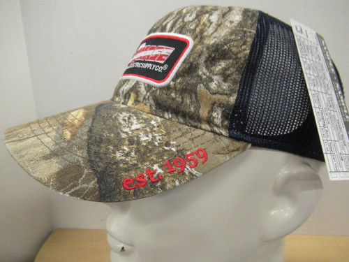 All-Phase Realtree Navy Mesh Flag Patch Hat
