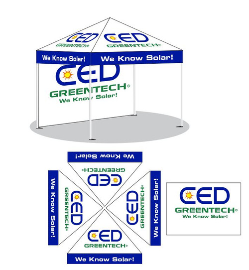 CED Full Color Vendor Tent Options