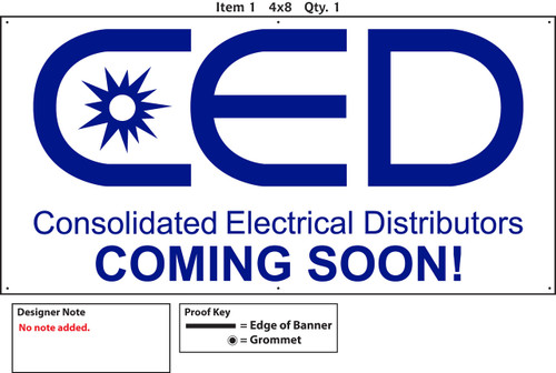 CED COMING SOON BANNER PRINT