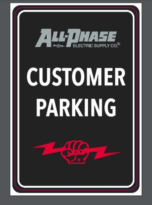 All-Phase Parking Sign Imprint