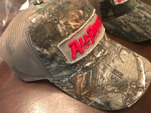All-Phase Realtree  Camo Tattered Patch Hat