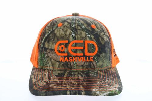 Custom CED Camo Hat