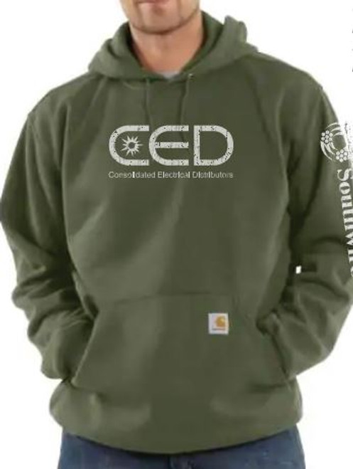 CED Carhartt Hooded Sweatshirt Mock