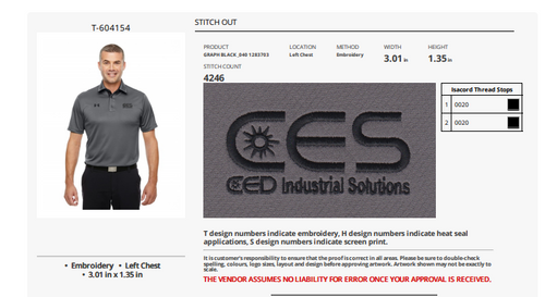 CES CED Industrial Solutions Embroidery