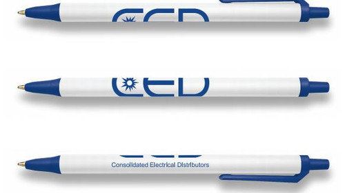 CED BIC Clic Stic Pen Proof