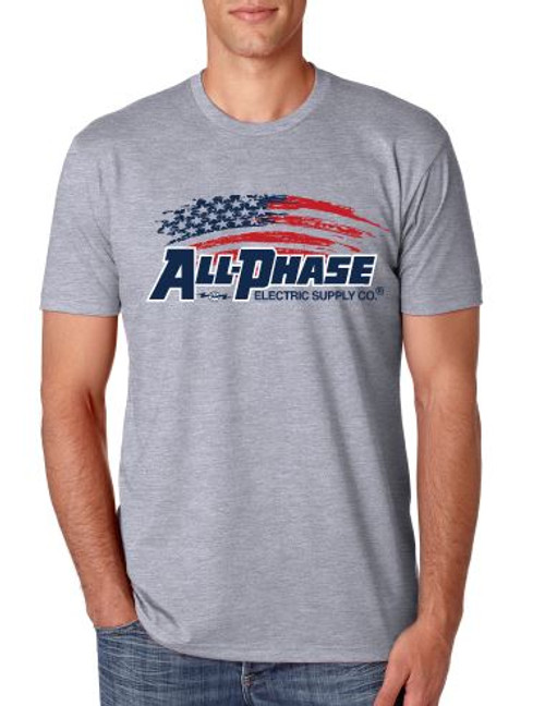 All-Phase 3 Color Distressed Flag Print