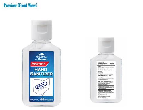 2 Ounce Sanitizer Imprint Proofs