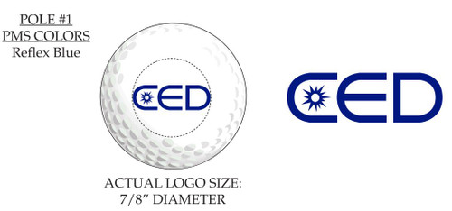 Custom CED Golf Ball Proof Examples