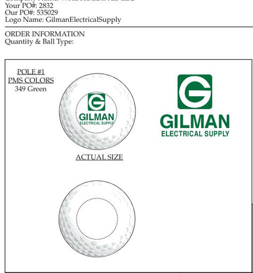 Gilman Golf Ball Proof