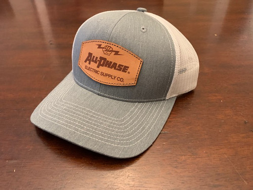 All-Phase Leather Patch Modern Trucker Hat