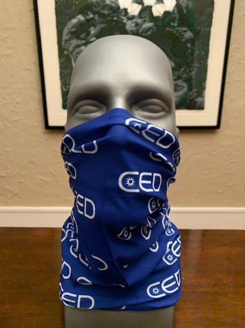 CED  Neck Buff Gaiters - 2 Sided Print
