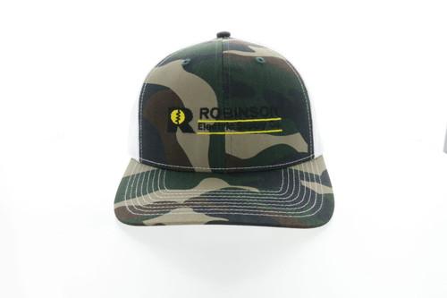 Robinson Generic Camo OC771 Hat Example