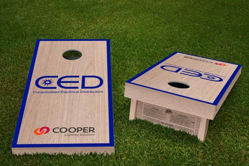 Custom CED Cornhole Board Set