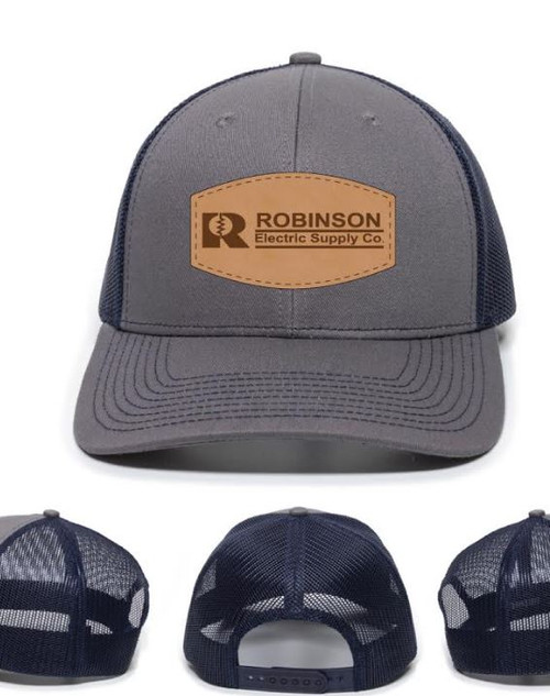 Robinson Leather Patch OC771 Modern Trucker Hat