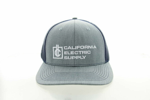 California Electric Left Panel OC771 Modern Trucker Hat