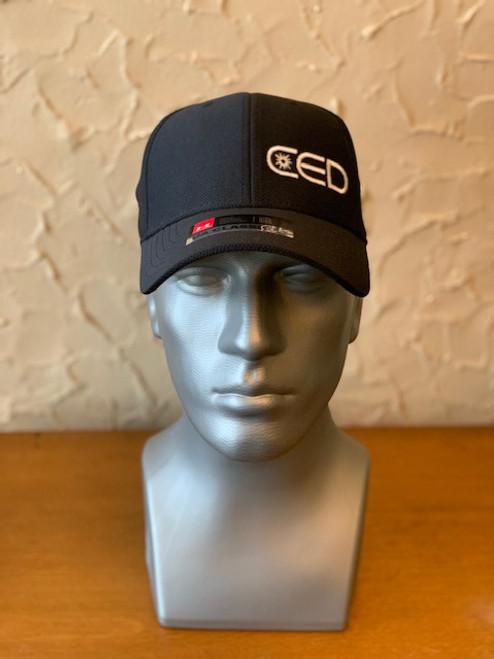 CED Left Panel Black Under Armour Hat - Size M/L