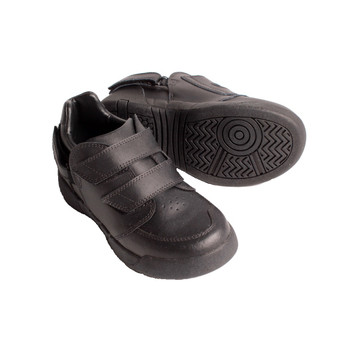 Hatchbacks Aspire Kids Shoe : Black Leather (Size 7 only)