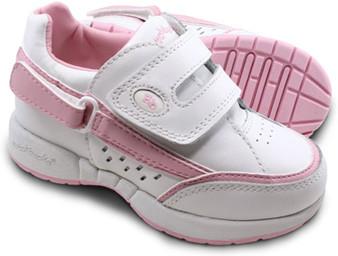 Hatchbacks Freestyle Girls Shoe : White Pink