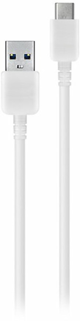 Samsung - 3.3' USB Type A-to-USB Type C Device Cable - White EP-TA315CWEGUS