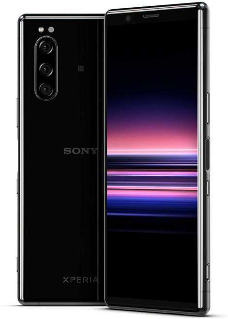Sony - XPERIA 5 with 128GB Memory Cell Phone (Unlocked) - Black