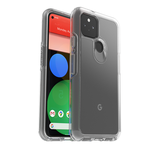 OtterBox Symmetry Clear Series Case for Google Pixel 5 Clear
