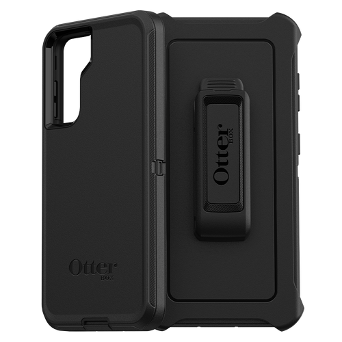 OtterBox Defender cases for Samsung Galaxy S21/S21+ and S21 ultra Black