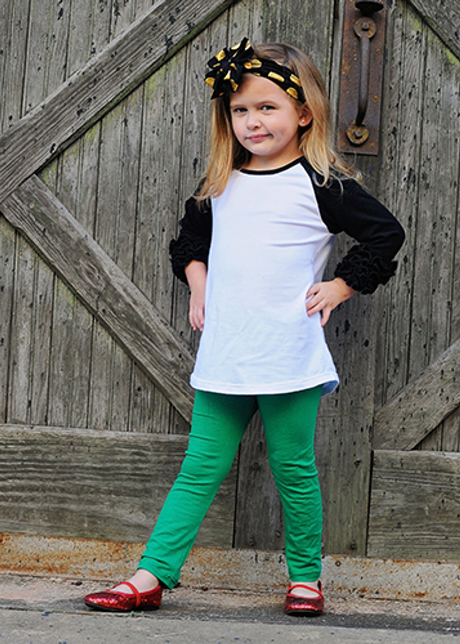 54cb2ba6 The Hair Bow Company | Solid Cotton Leggings for Girls