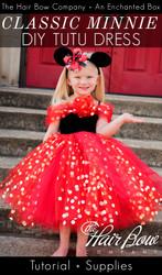 7f8f953e1 ... The Hair Bow Company and she … read more · Classic Minnie Mouse Tutu  Dress DIY Tutorial
