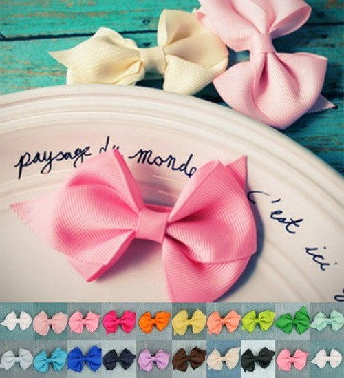 cotton Gauze bow summer bow newborn headband plum toddler hair clip large bow cotton bow plum,cotton pinwheel bow