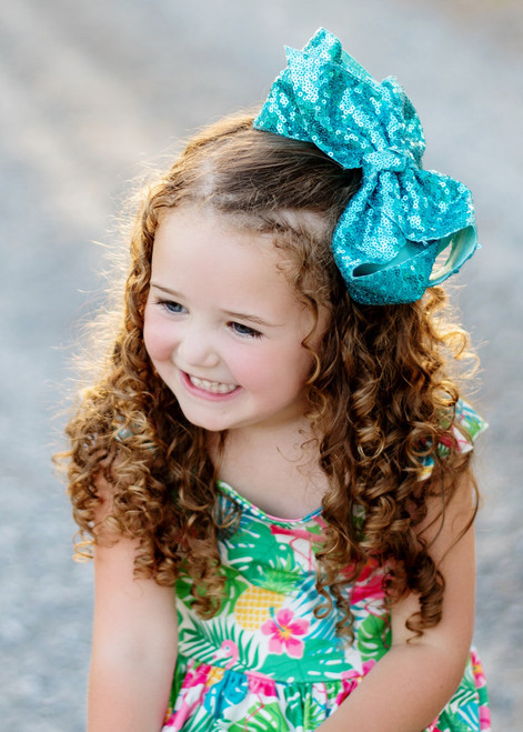 c04d9b70164c Sequin Texas Size Hair Bows