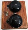 Oak Wood Ringer Box circa 1930's