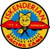 Iskenderian Supercam Metal Sign
