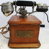 French Crank Telephone Model 1910 with Mother in Law Receiver