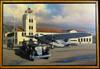 1931 Packard with Tri-Motor Motor Car Original Oil Painting