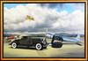 1933 Pierce Arrow Motor Car Original Oil Painting