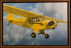 Piper Cub Airplane 1936 Framed Lithograph by Stan Stokes