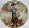 """""""Extra, Extra"""" Lee Dubin Collector Plate"""