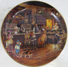 """""""Soda Fountain"""" Lee Dubin """"Bygone Days"""" Collector Plate"""