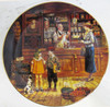 """""""Sam's Grocery Store"""" Lee Dubin """"Bygone Days"""" Collector Plate"""