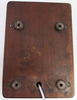 Walnut Wood Ringer Box circa 1950's