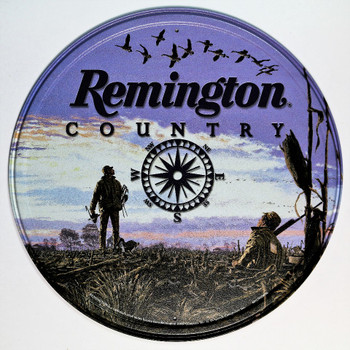 Remington Country Compass Round Sign