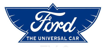 "Ford-The Universal Car 18"" Plasma Cut Metal Sign"