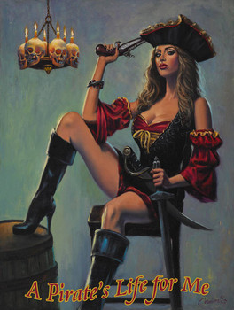 A Pirate's Life for Me, Scarlett Wench by Will Cormier