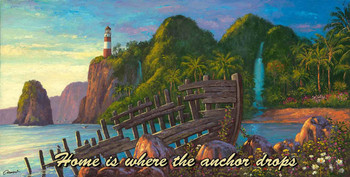 Home is Where the Anchor Drops, Paradise Cove by Will Cormier