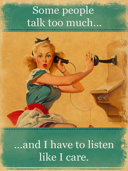 People Talk Too Much