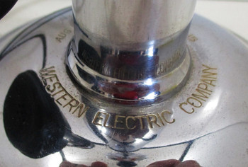Western Electric Nickel Plated Candlestick Telephone