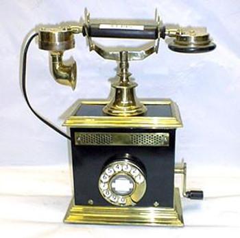 European Table Telephone Circa 1895