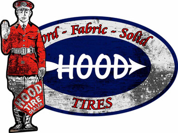 Hood Tired Oval with Attendant
