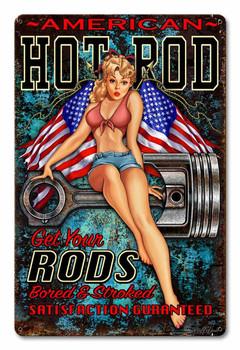 American Hot Rod Girl