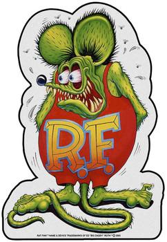 Rat Fink Plasma Cut Metal Sign